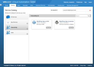 vRA_wordpress_app